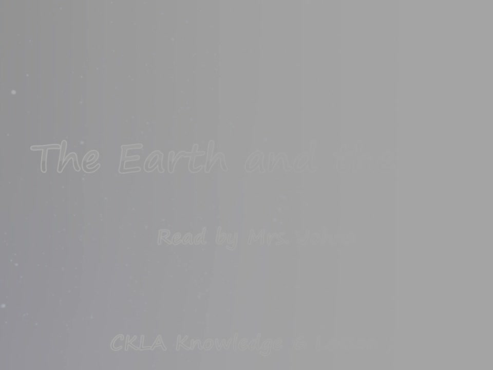 Lesson 2 The Earth and the Sun - Mrs. Johns